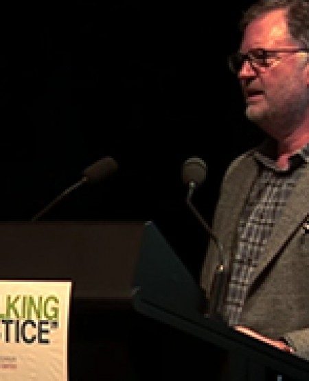 Robert Stary's speech from Talking Justice 2015